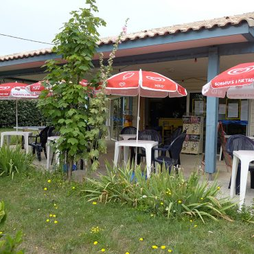 Campsite Bar at Les Tamaris in Oléron