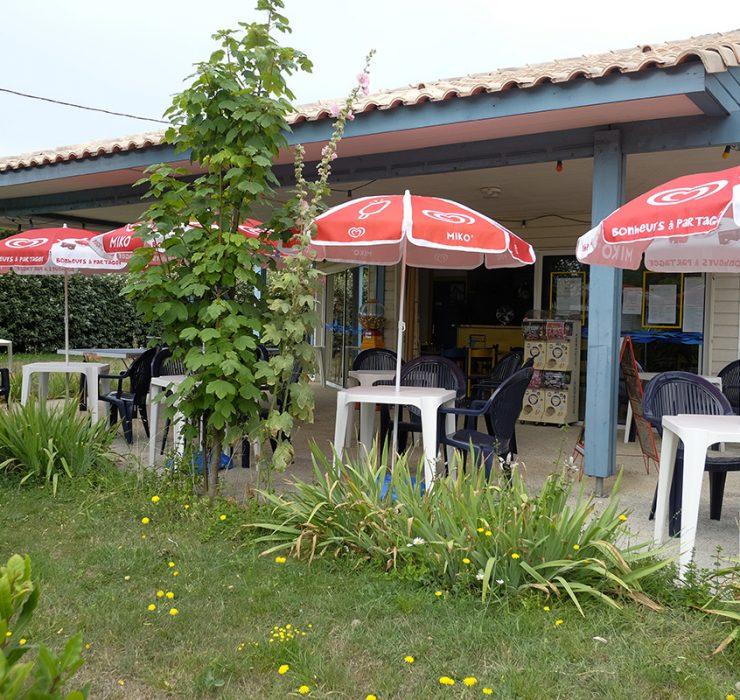 Campsite Bar at Les Tamaris in Oléron
