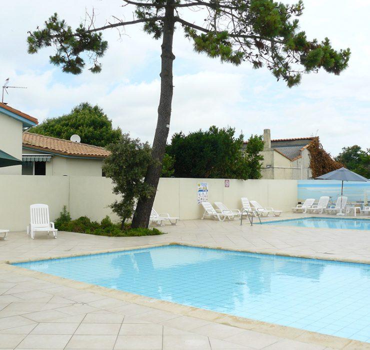 Camping 3 étoiles avec piscine à Oléron
