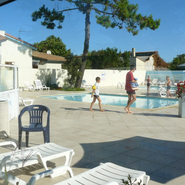 Camping avec piscine sur l'île d'Oleron