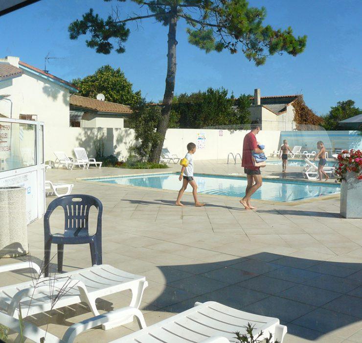 Camping avec piscine sur l'île d'Oléron