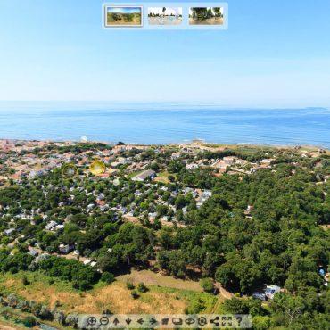 Visite 360 camping oléron Les Tamaris